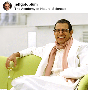 jeff goldblum was not at the opening cork of philly wine week though it would have been awesome if he was