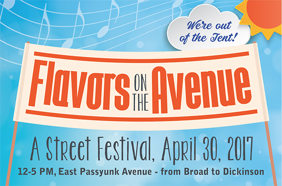 Flavors on the Avenue on East Passyunk Avenue - April 2017