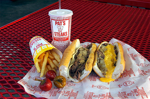 Free Cheesesteaks from Pat's this Wednesday